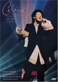 Cover Céline Dion - The Colour Of My Love Concert [DVD]